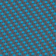 Fabrics Transparent EXTERNAL SCREEN CLASSIC Satiné 5500 0103 Grey Turquoise