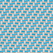 Fabrics Transparent EXTERNAL SCREEN CLASSIC Satiné 5500 M02 020310 White Turquoise Sable